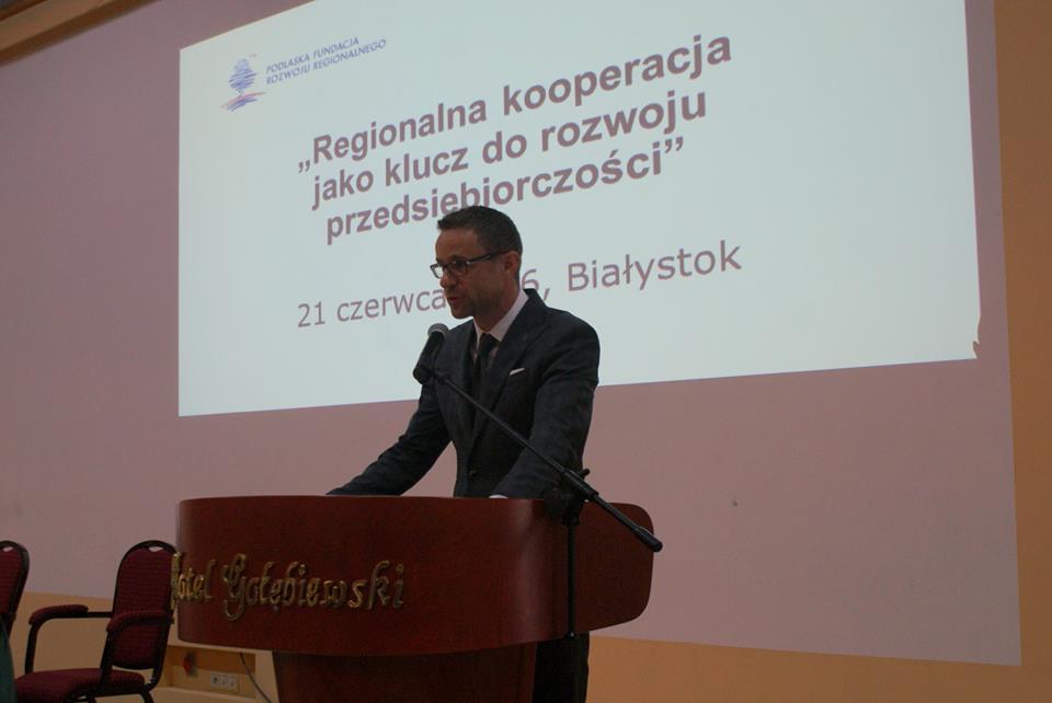 """Konferencja """"Regionalna kooperacja jako klucz do rozwoju przedsiębiorczości"""""""
